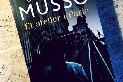 Boganmeldelse - Et atelier i Paris af Guillaume Musso