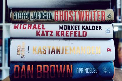 5 bøger som julegave 2018