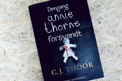 Boganmeldelse - Dengang Annie Thorne forsvandt af C.J. Tudor