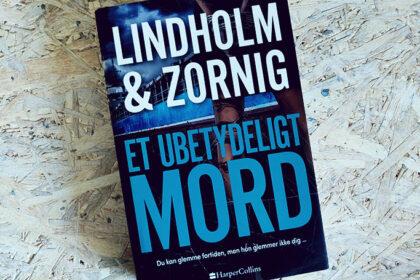 Boganmeldelse - Et ubetydeligt mord af Mikael Lindholm og Lisbeth Zornig Andersen