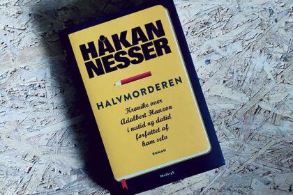 Boganmeldelse - Halvmorderen af Håkan Nesser