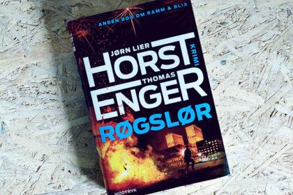Boganmeldelse - Røgslør af Jørn Lier Horst og Thomas Enger