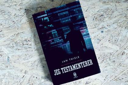 Boganmeldelse - Jeg testamenterer af Jan Thiele