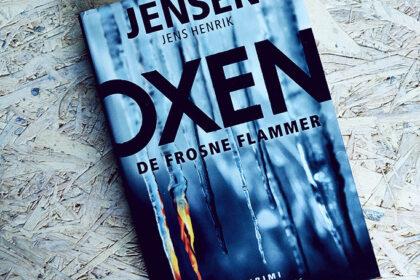 Anmeldelse af De frosne flammer - Jens Henrik Jensen