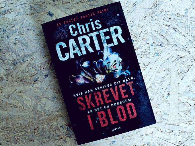 Anmeldelse af Skrevet i blod - Chris Carter