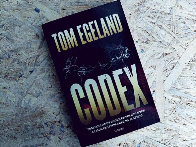 Anmeldelse af Codex - Tom Egeland