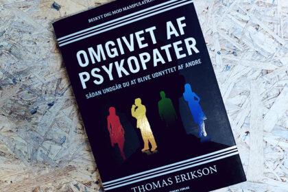 Anmeldelse - Omgivet af psykopater af Thomas Erikson